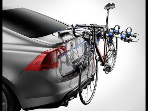 Allen Sports Deluxe 2 Bike Trunk Mount Rack Youtube