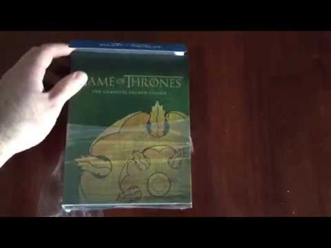 Game of Thrones Season 4 Blu-ray unboxing...