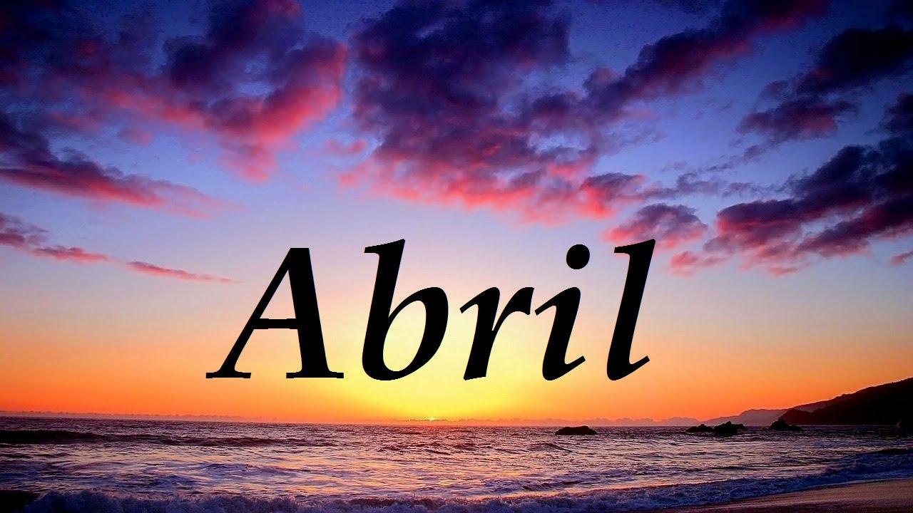 Resultado de imagen para abril