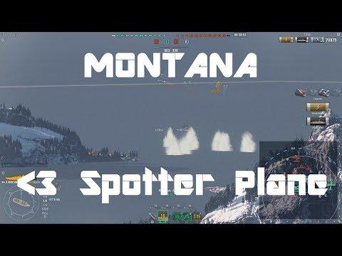 Montana - Embrace The Spotter Plane