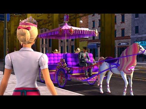 Barbie: Princess Charm School - Blair wins the lady royal lottery