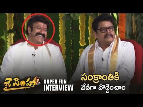 Jai Simha Movie Team Super Fun Interview |...