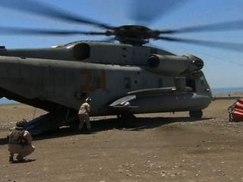 Aerial assault teams take aim at California wildfires
