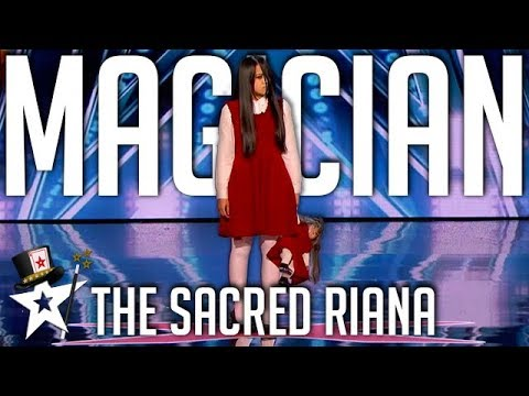 GHOSTLY AUDITION! The Sacred Riana Haunts The Stage on America's Got Talent | Magicians Got Talent