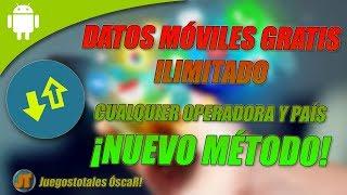CÓMO TENER DATOS MÓVILES ILIMITADOS GRATIS! | MÉTODO DEFINITIVO Y DEMOSTRADO | LEER DESCRIPCIÓN