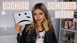BACK TO SCHOOL HAUL!