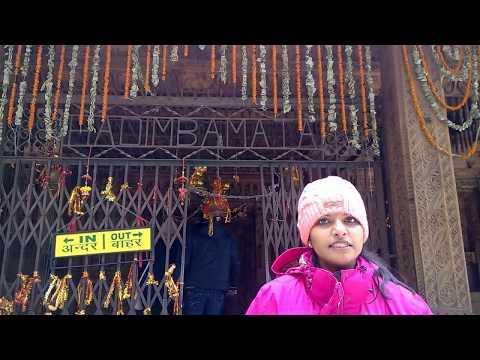 Visit to Hadimba Devi Temple Manali  in winters! VLOG