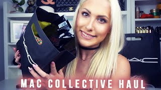 huge collective mac cosmetics haul stefy puglisevich