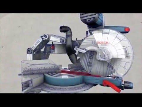 Bosch slide miter saw | gcm12sd | ereplacementparts. Com.