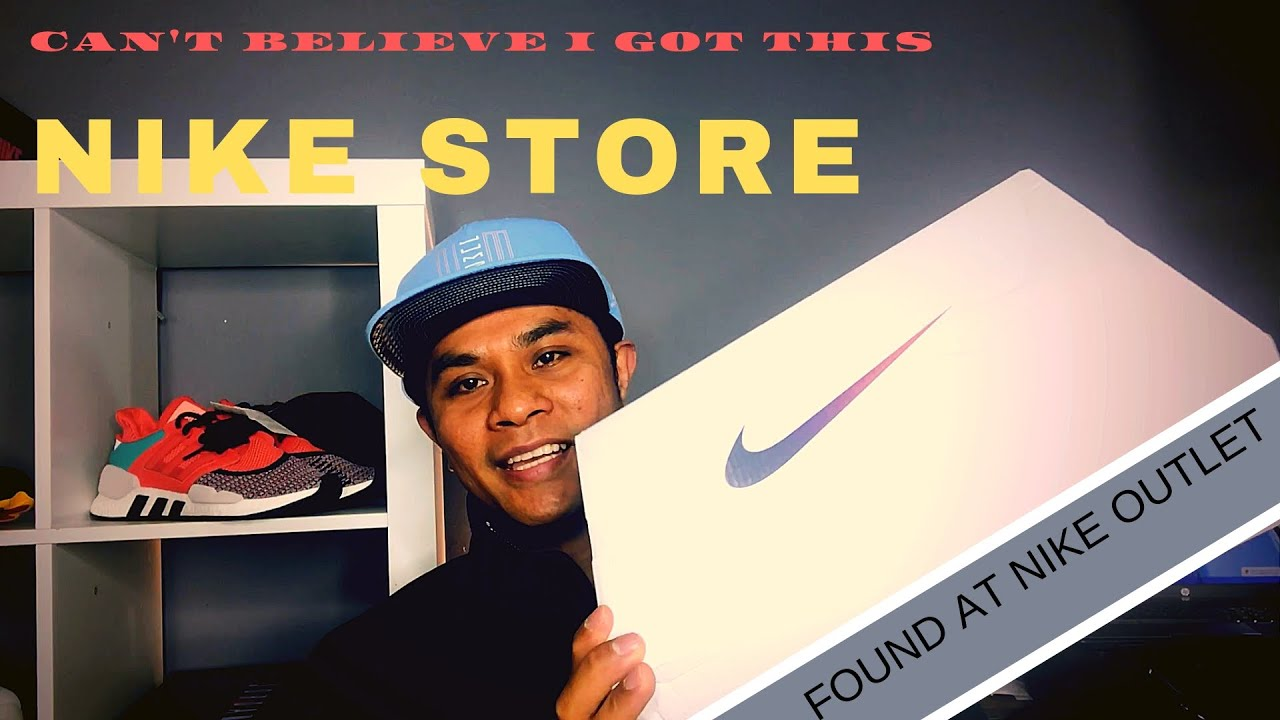 2f4232f5a Nike Factory Store outlet mall vlog sneaker shopping HUGE Crazy Discount  (Pinoy Sneaker heads)
