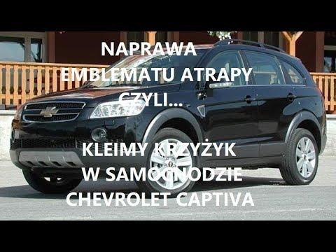 Naprawa Emblematu Atrapy Chevrolet Captiva.