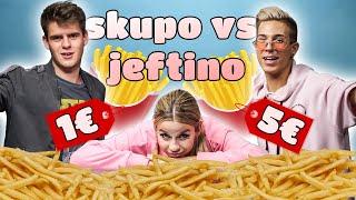 Isprobavamo SKUPE i JEFTINE krumpiriće! 🍟 | SaamoPetraa & Marco Cuccurin & ASH