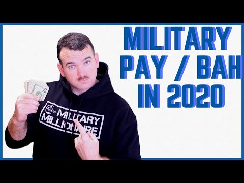 2020 Military Pay Raise: MORE MONEY, And The 2020 Military BAH Rates!