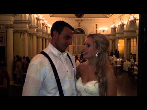 Music Man Entertainment Testimonials - Katie & Jon @ The Canfield Casino in Saratoga Springs, NY