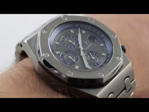 Pre-Owned Audemars Piguet Royal Oak Offshore Ref. 25721TI.OO.01 Luxury Watch Review