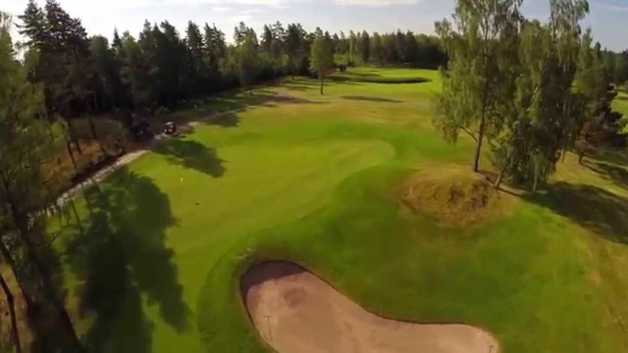 Karlstad Golfklubb Bla Slinga Flygvideo
