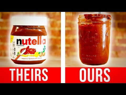 How To Make Your Own Nutella At Home