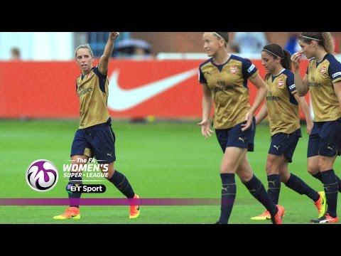 Sunderland Ladies 0-4 Arsenal Ladies   Goals & Highlights