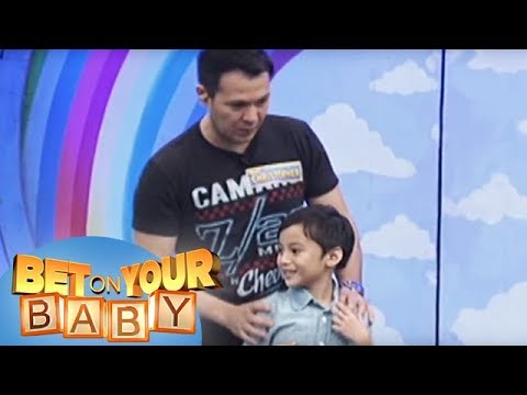 Bet On Your Baby: Baby Dome Challenge With Daddy Christopher And Baby Grant