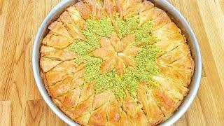 Selbstgemachte Baklava / Ev yapimi el acma Baklava / Türkische Süßspeise