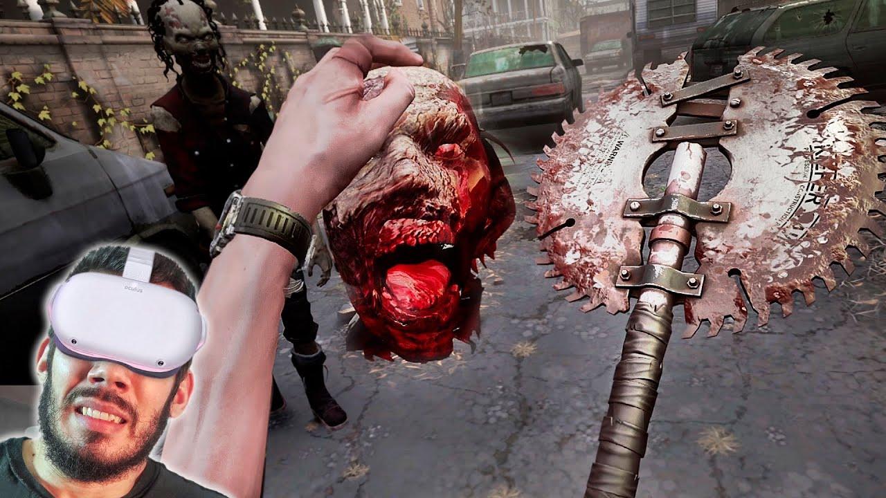 THE WALKING DEAD VR - #5 : CABEÇAS VÃO ROLAR... Literalmente!