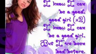 "Alexis Jordan - ""Good Girl"" With Lyrics On Screen (NEW SINGLE 2011)"