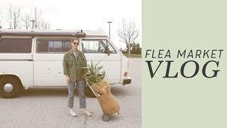 Sunday Vlog at the Flea Market | Alli Cherry