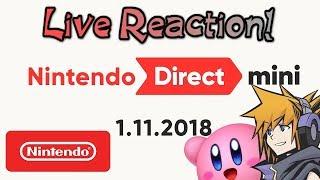 Nintendo Mini Direct - 1.11.2018 || LIVE REACTION with PlatinumRhythm & Cylika!