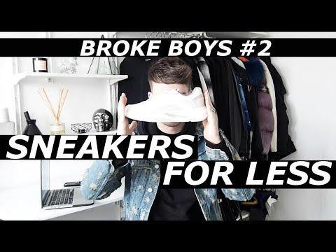 Broke Boys #2   High End Sneakers Affordable Alternatives   Budget, Giveaway   Gallucks