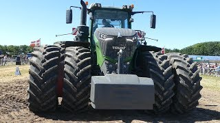 Monster Pullers Trying Out The Heavy Sledge | Fendt 1050 Vario, Case Steiger & NHT9.450 | Pulling DK