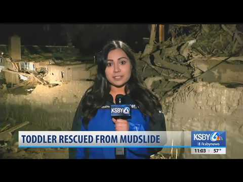 Toddler rescued from Montecito mudslide recovering