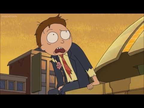 Rick & Morty - post-cronenberg scene