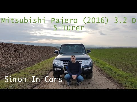 Mitsubishi Pajero 3.2 DI-D (2016) Review/ Test (deutsch)