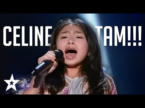 POWERFUL Performances By Celine Tam On Got Talent Around The