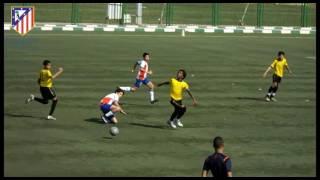 اتليتكو مدريد والمقاولون العرب2004