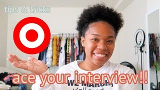 INTERVIEWING AT TARGET! (tips, questions asked, answers & more!)   2018