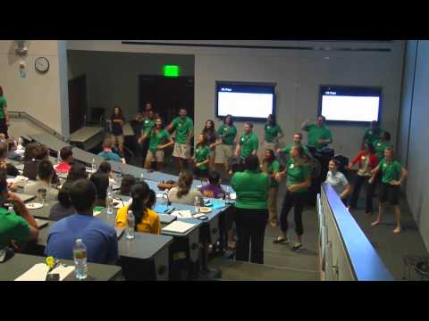 UNTHSC Flash Mob at Student Orientation
