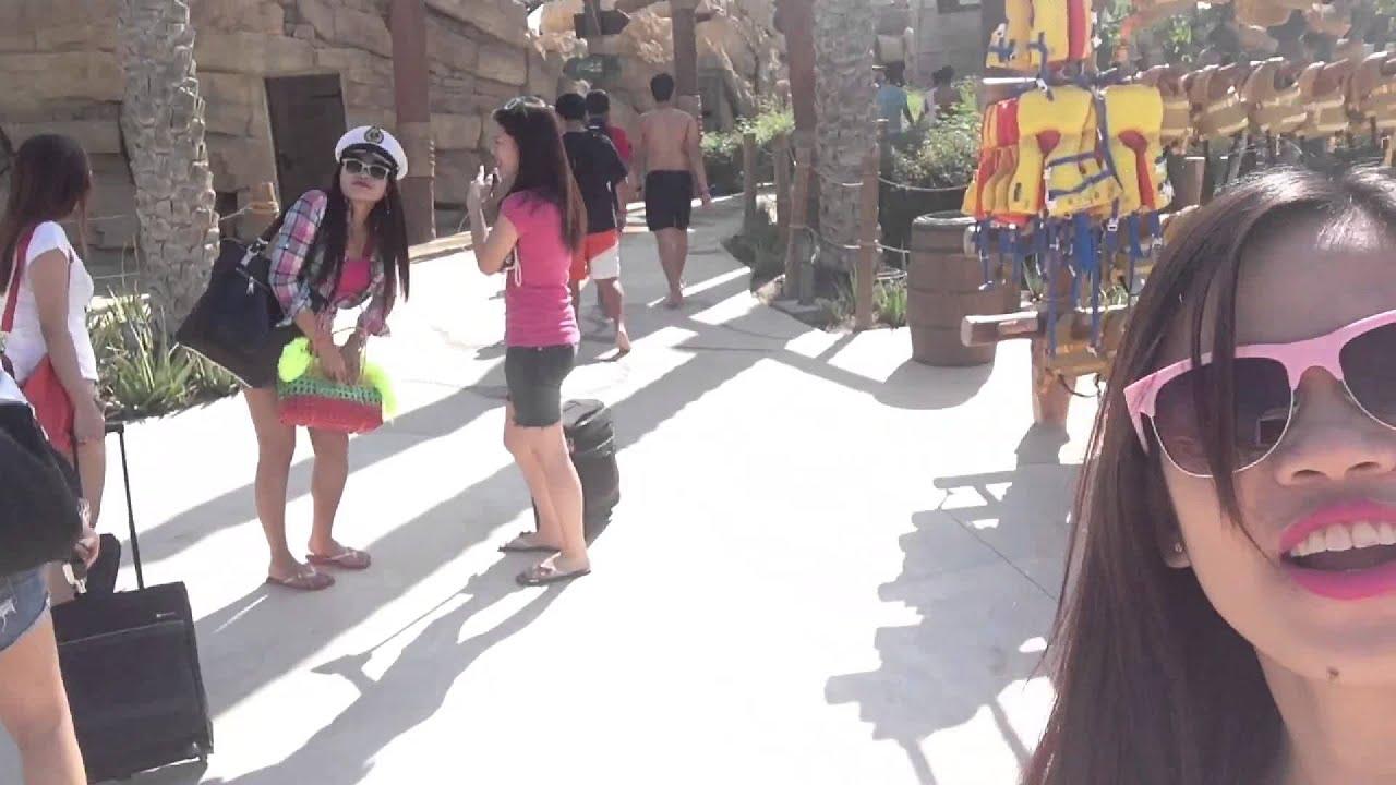 yas waterworld with my girls youtube