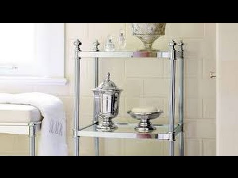 bathroom etagere - bathroom etagere target - YouTube