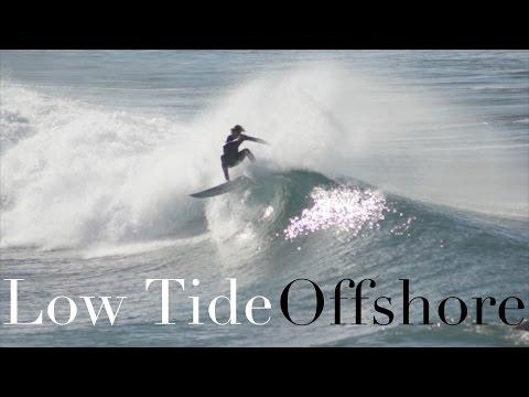 Surfing Low Tide Offshore Huntington Beach Pier 2/24/15