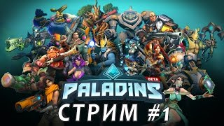 Стрим Paladins #1
