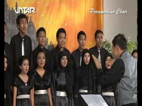 Paramadina Choir - Melati di Tapal Batas (Lomba Paduan Suara)