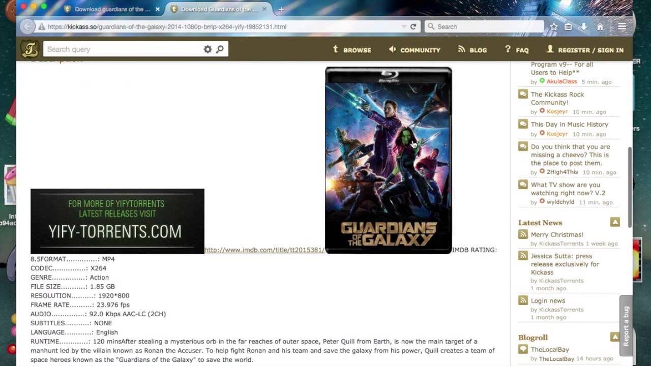 utorrent free download movies for mac