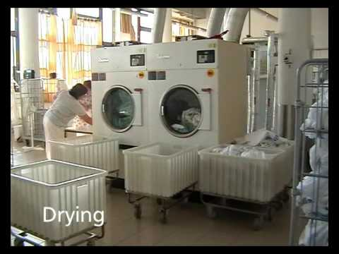 hygienic barrier laundry primus in hospital youtube