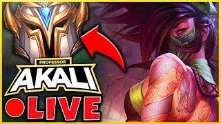 PROFESSOR AKALI - 91% WINRATE! #1 AKALI WORLD - CHALLENGER SOON!?! - League of Legends