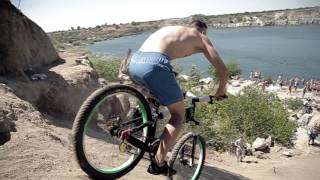 Cliff Jumps & Bike Jumps into Water