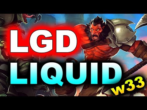 LIQUID Vs LGD - TOP EU Vs CHINA GAME! - EPICENTER MAJOR 2019 DOTA 2