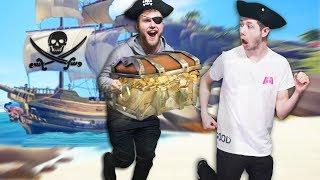 HOW TO BECOME THE RICHEST PIRATES! | Sea of Thieves [Ep 1]