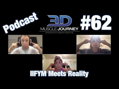 3DMJ Podcast #62: IIFYM Meets Reality