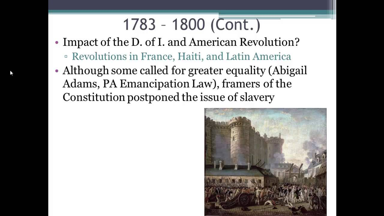 APUSH Review: Period 3 (1754 - 1800) in 10 Minutes